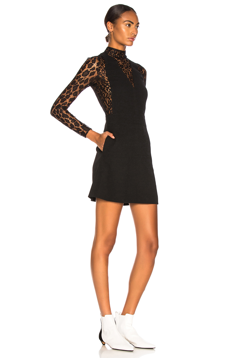 Buy Original Givenchy Leopard Print Wool Crepe Overall Dress at ... 145745c64