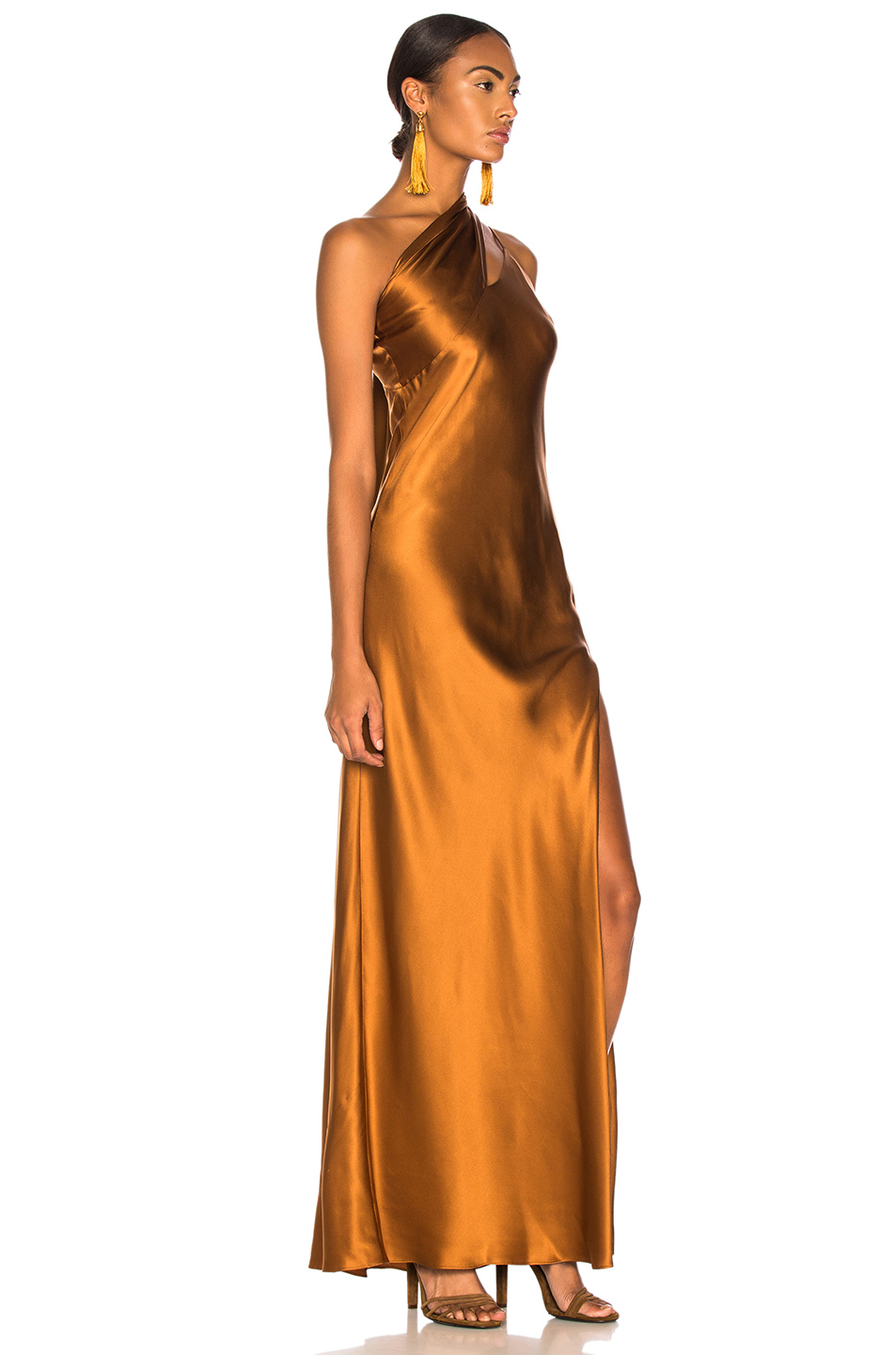a5fcb1c97fd97 Buy Original Michelle Mason One Shoulder Gown With Tie at ...