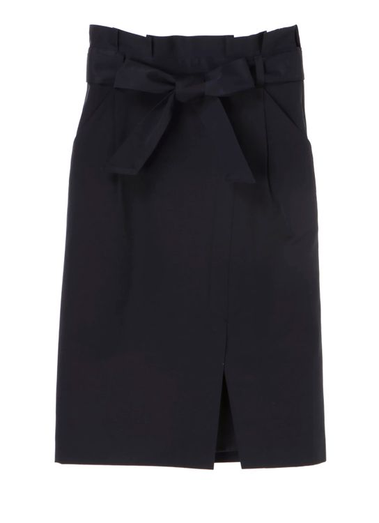 Yecca Vecca Shenna Pencil Skirt - Navy