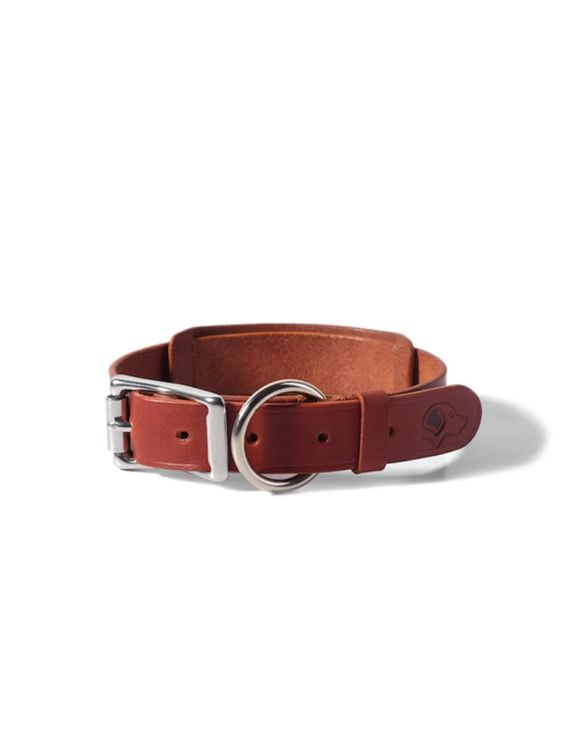 VOYEJ Voyej Dog Collar Chestnut