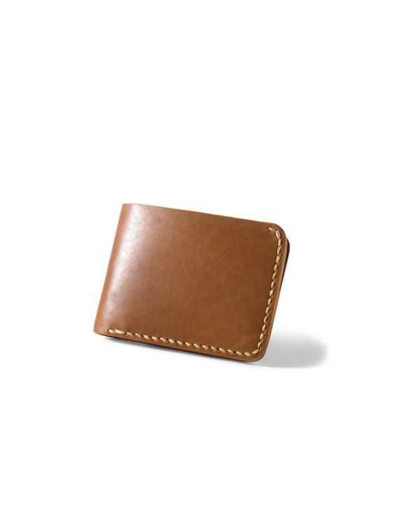 VOYEJ Voyej Vessel VII Golden Brown Short Wallet