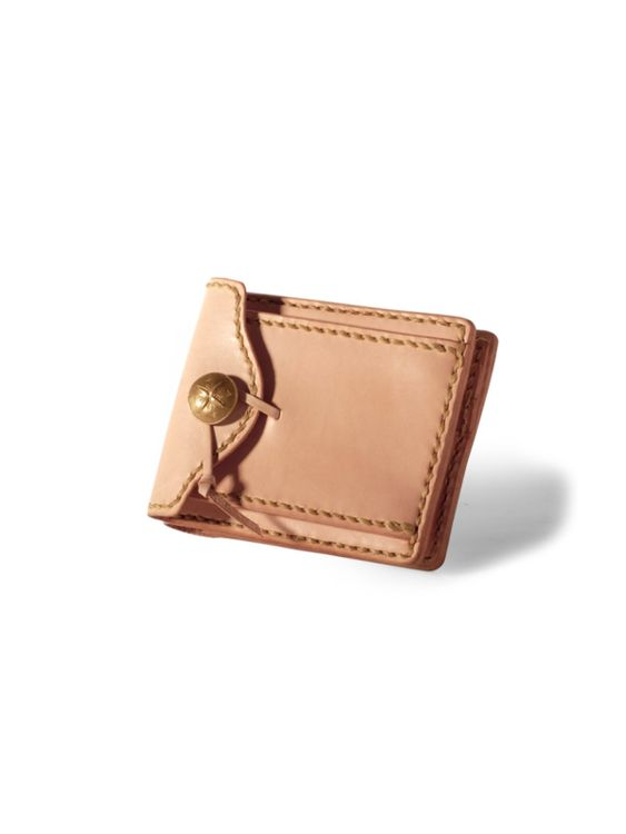 VOYEJ Voyej Woodland Natural Short Wallet