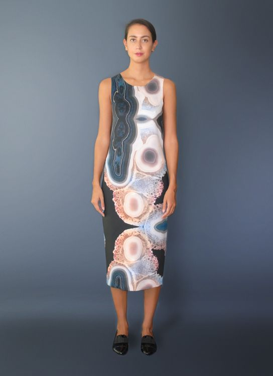 Void Cities Multicolor Obsidian 03 Dress
