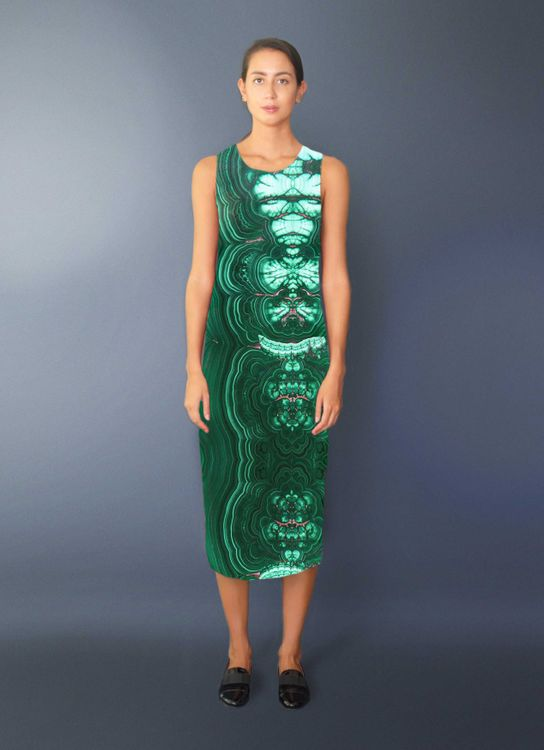 Void Cities Green Rosequartz 03 Dress