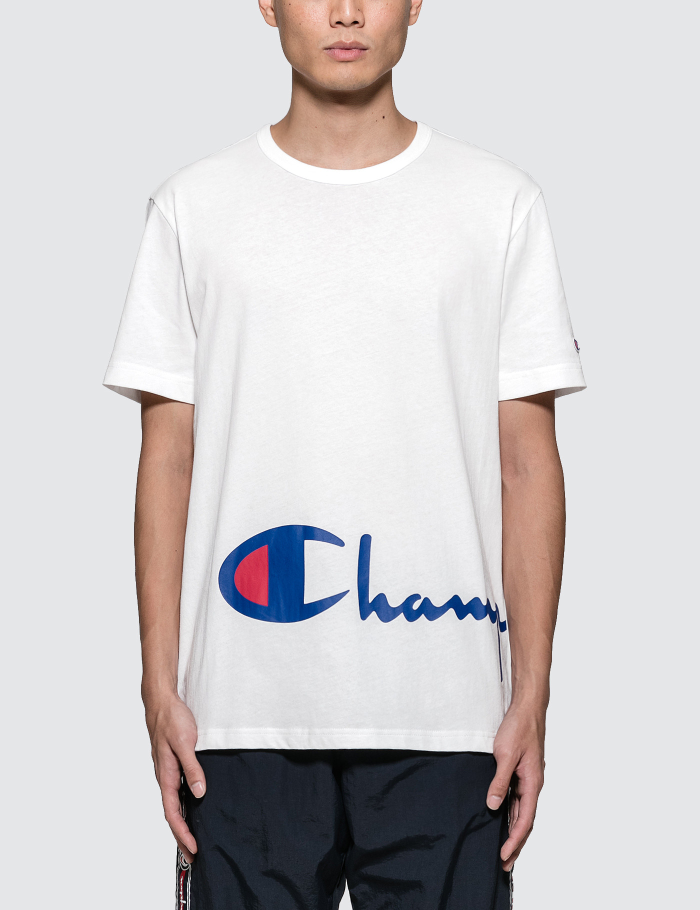 0fb315a0 Buy Original Champion Reverse Weave Oversized Script Logo S/S T ...