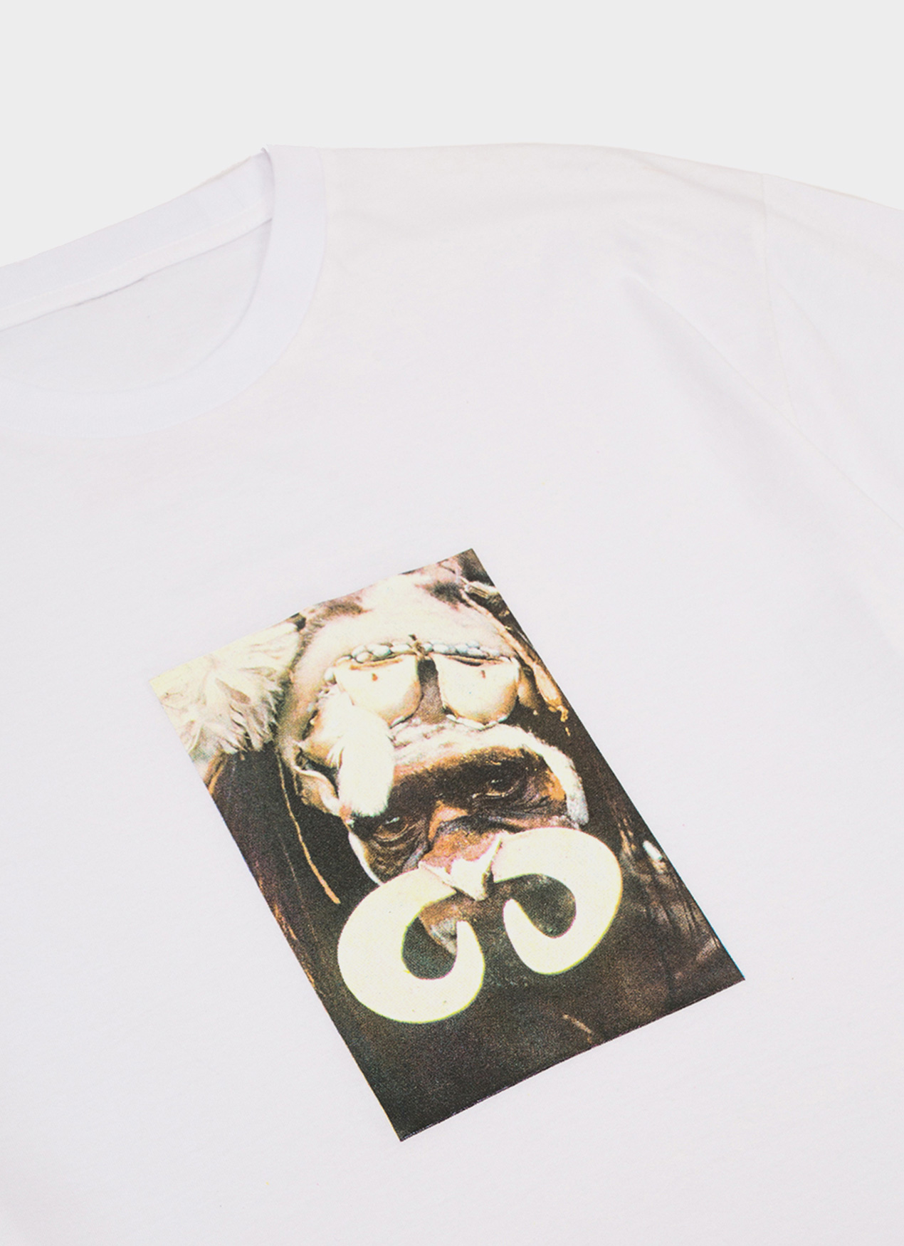 Lawrence Blair White Dance of The Warriors T-Shirt