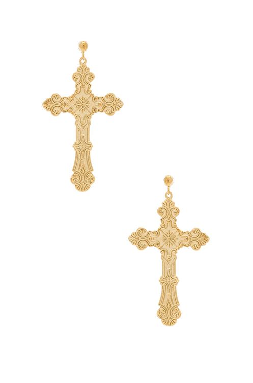 Amber Sceats Cross Earrings