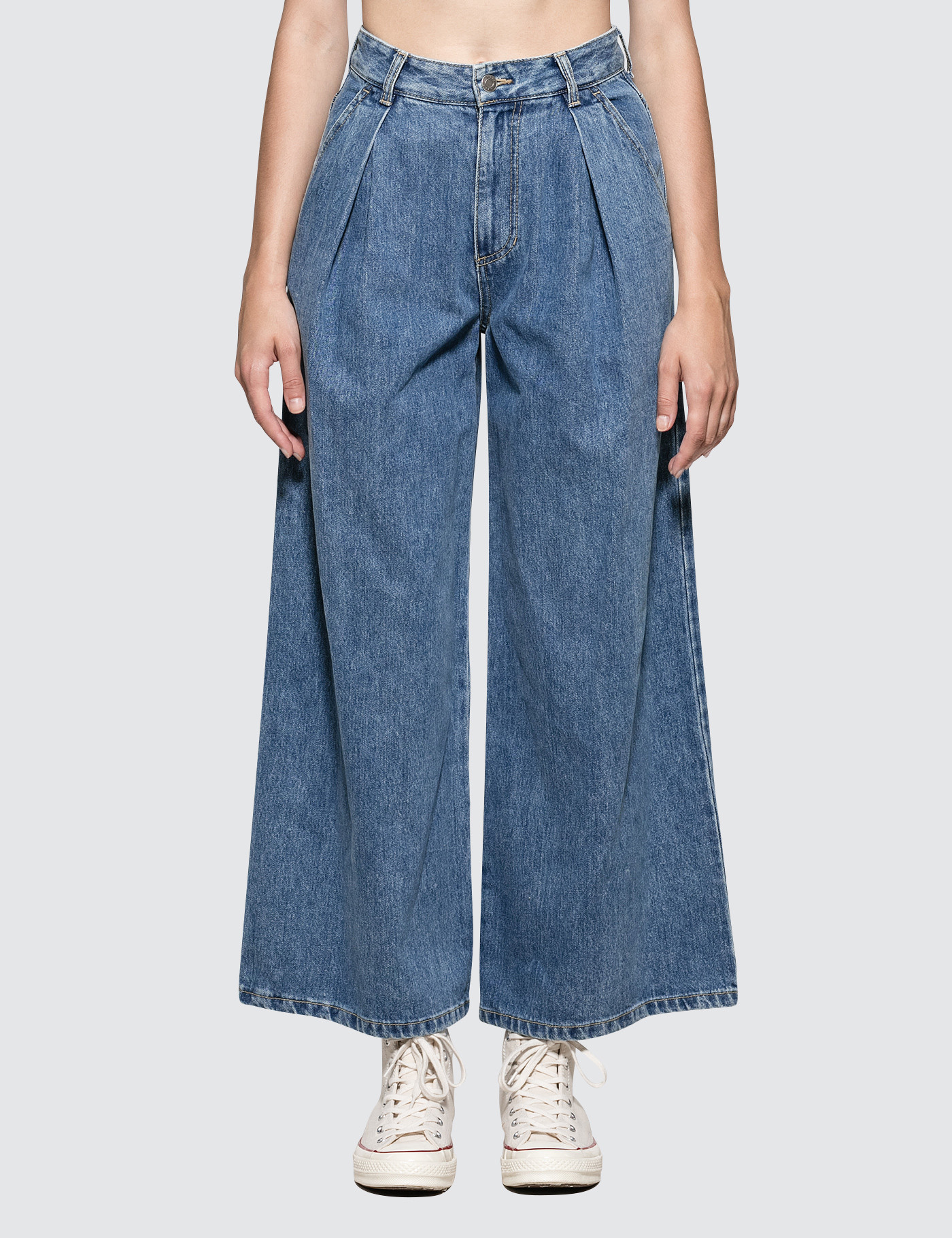 6fdc120f4a07b4 Buy Original SJYP Wide-fit Jeans at Indonesia