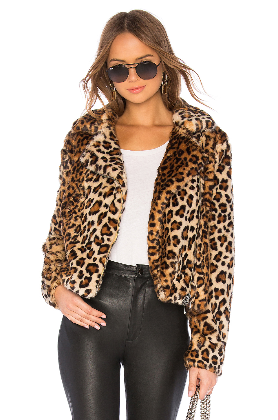 on feet at special sales 100% quality Hudson Faux Fur Jacket, Rebecca Minkoff