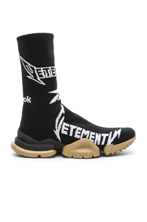 Vetements x Reebok Metal Sock Boots