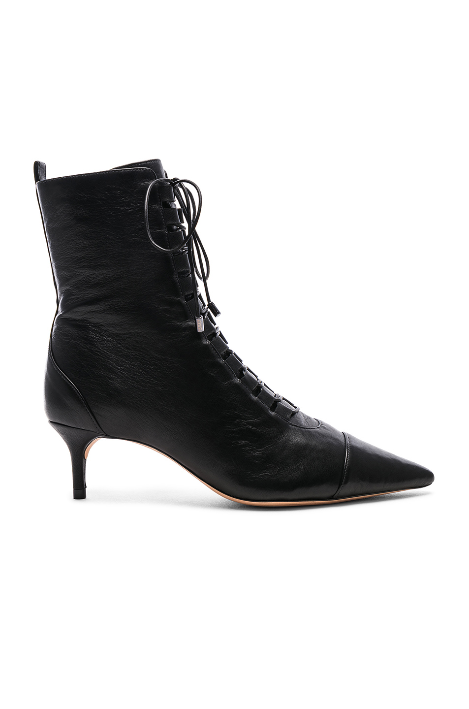 b2d976a1345a Buy Original Alexandre Birman Leather Millen Lace Up Ankle Boots at ...
