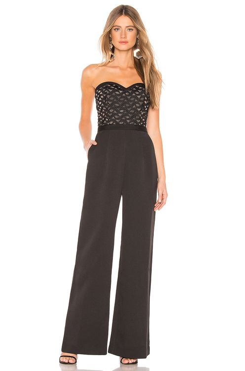 aijek Faith Bustier Jumpsuit