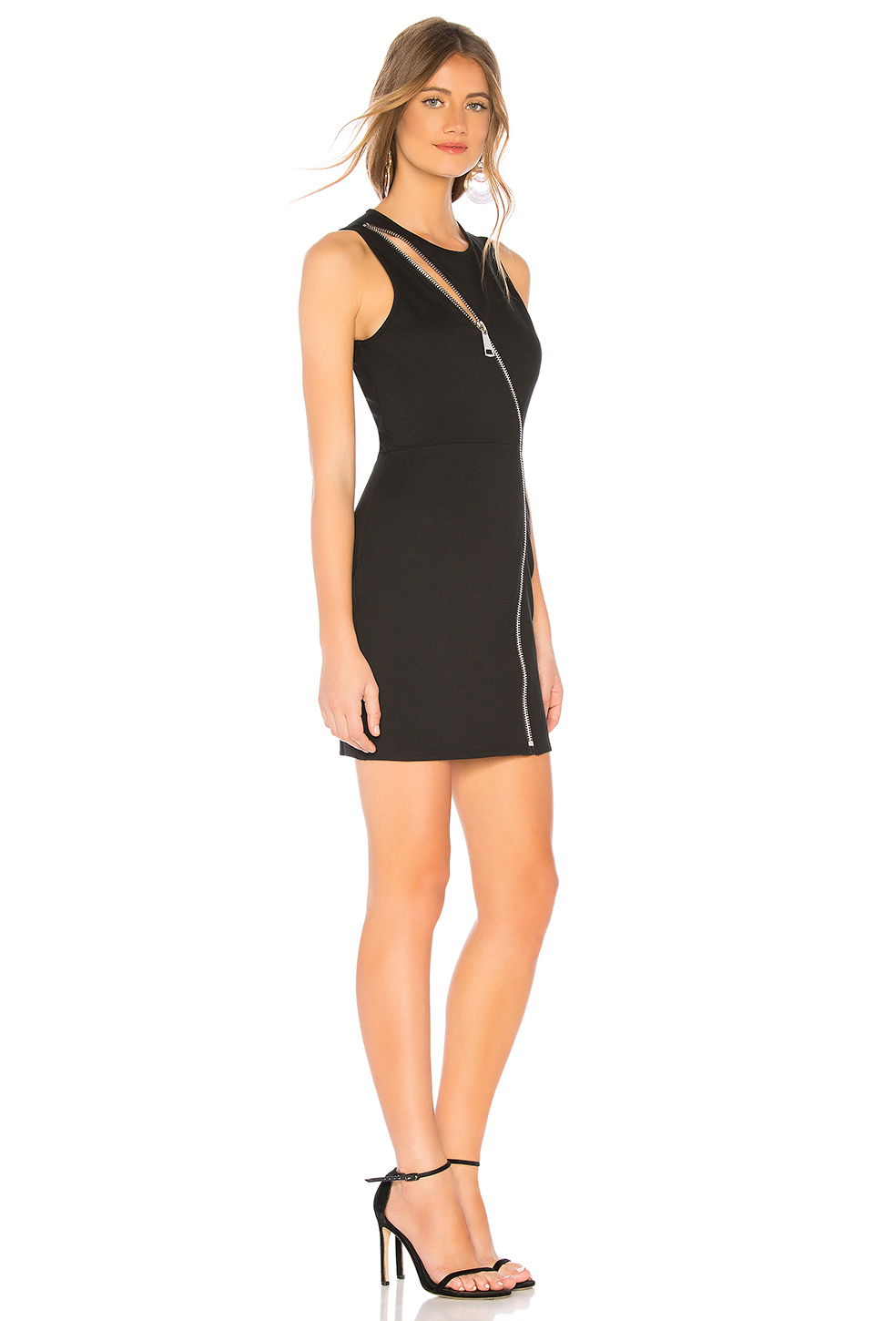 07c53db0f9 Leslie Zip Front Mini Dress; by the way. Leslie Zip Front Mini Dress ...