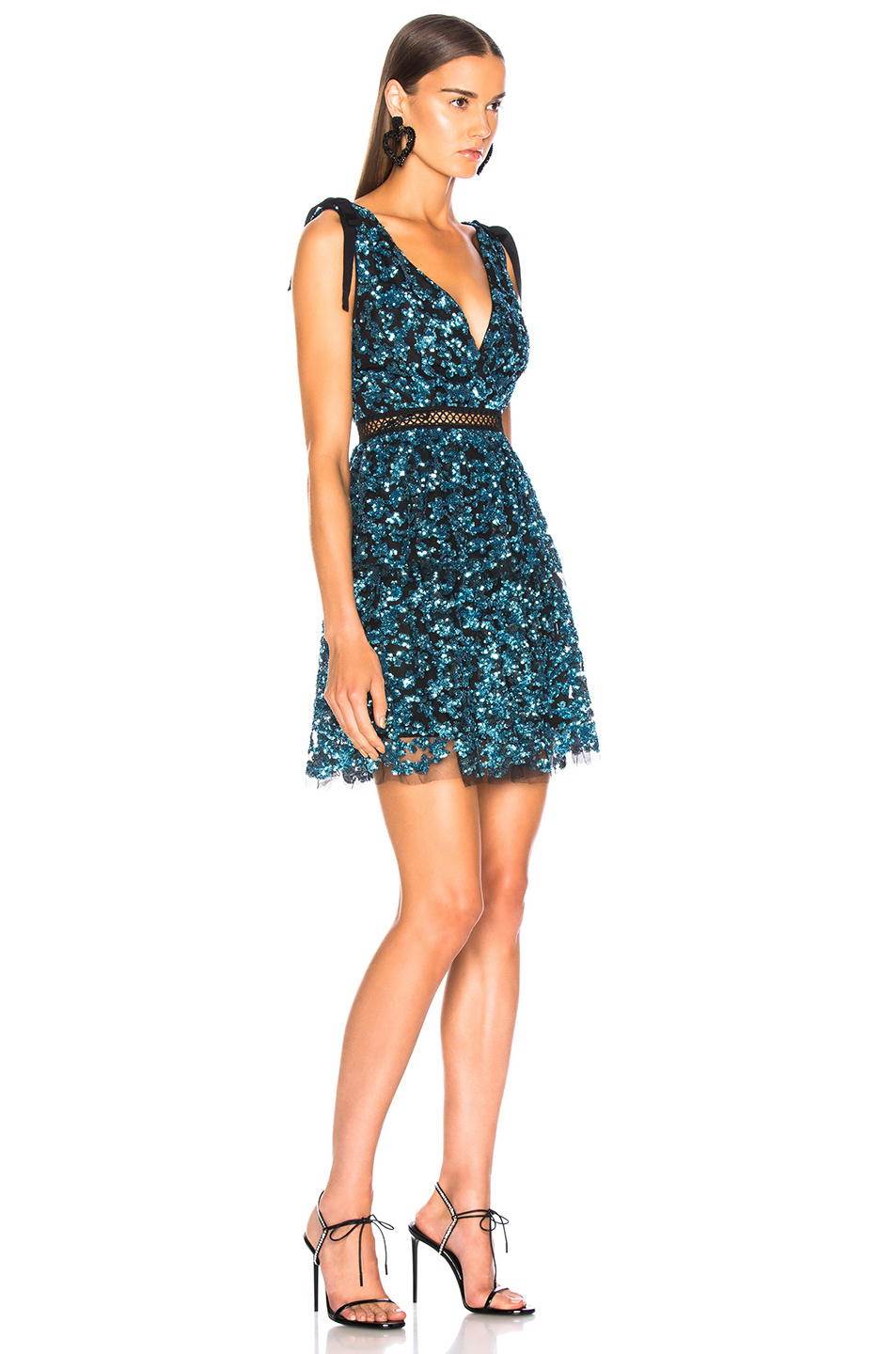 b7f09c8bdd8bc Buy Original self-portrait Tiered Sequin Mini Dress at Indonesia ...