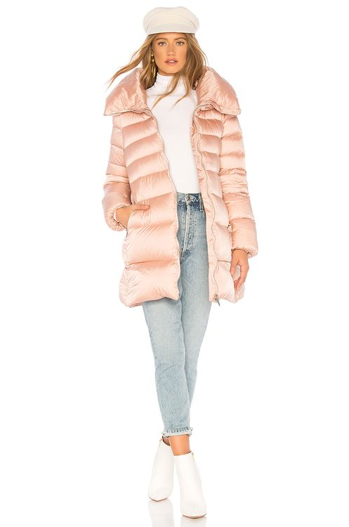ADD Hooded Short Down Coat