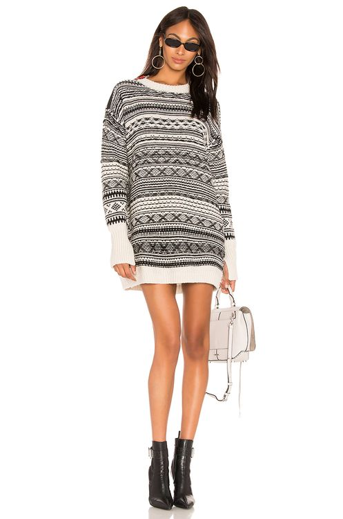 Nude Sweater Dress
