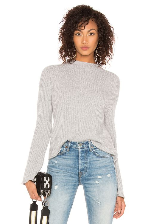 BROWN ALLAN The Twisted Rib Sweater