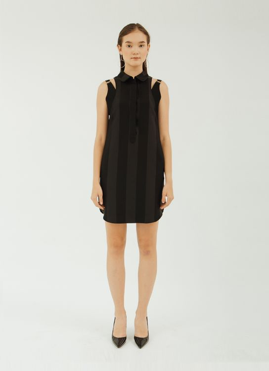 NADIYA Black Zane Dress