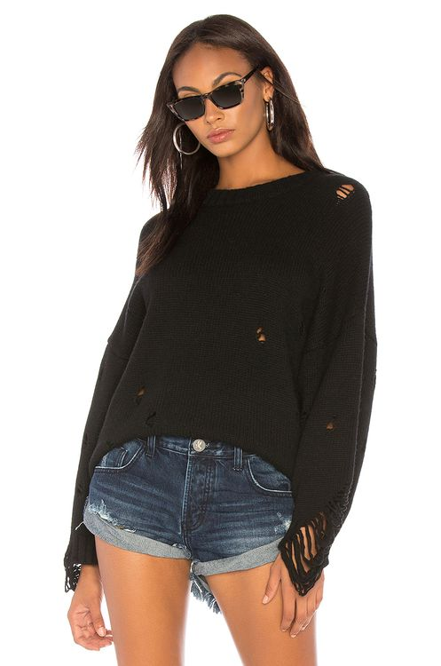 One Teaspoon Laddered Cashmere Sweater