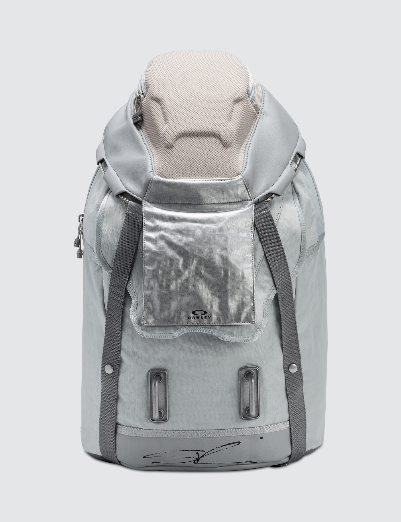68d9f7700e Buy Original Oakley by Samuel Ross Backpack Metal at Indonesia ...