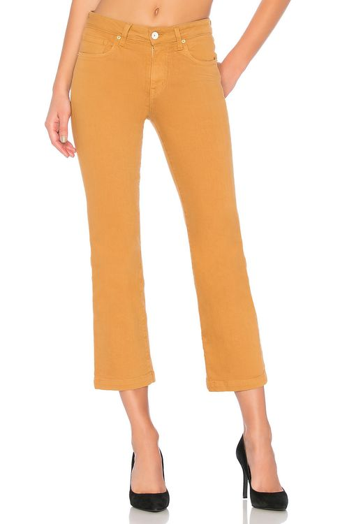 Father's Daughter Reagan High Rise Straight Crop