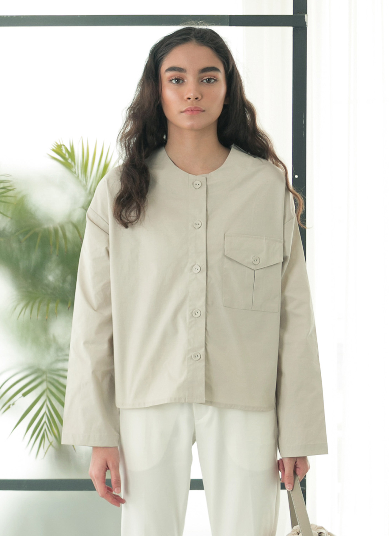 cb13a69c34a Jual Eesome Off White Figs Jumpsuit - 100% Original