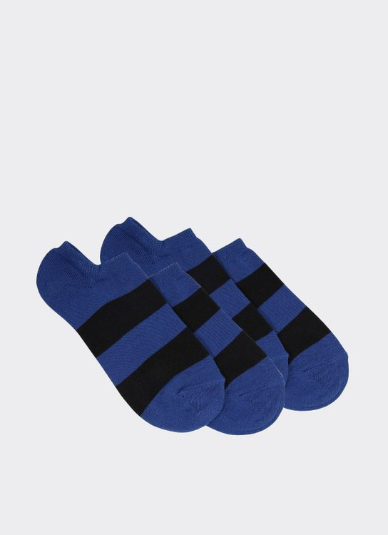Gunze Blue 15SG1 Socks