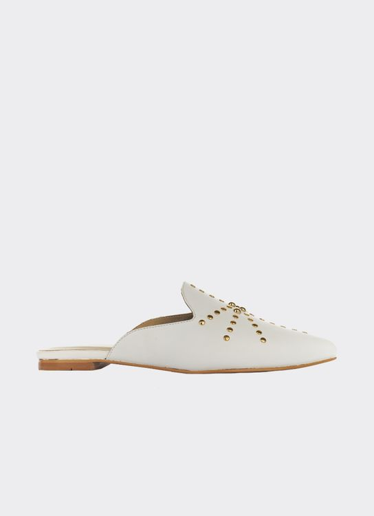 Winston Smith White Quincy Mules