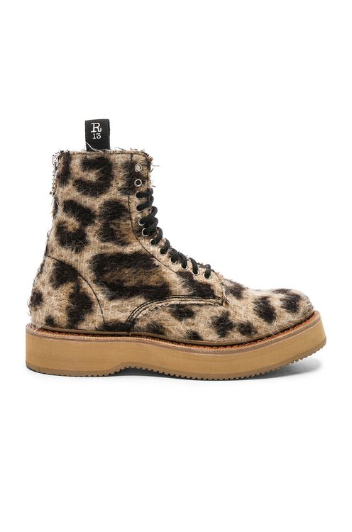 R13 Single Stacked Suede Boot
