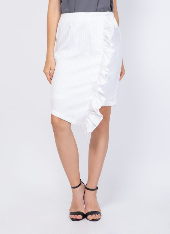 KOMMA White Claudy Skirt