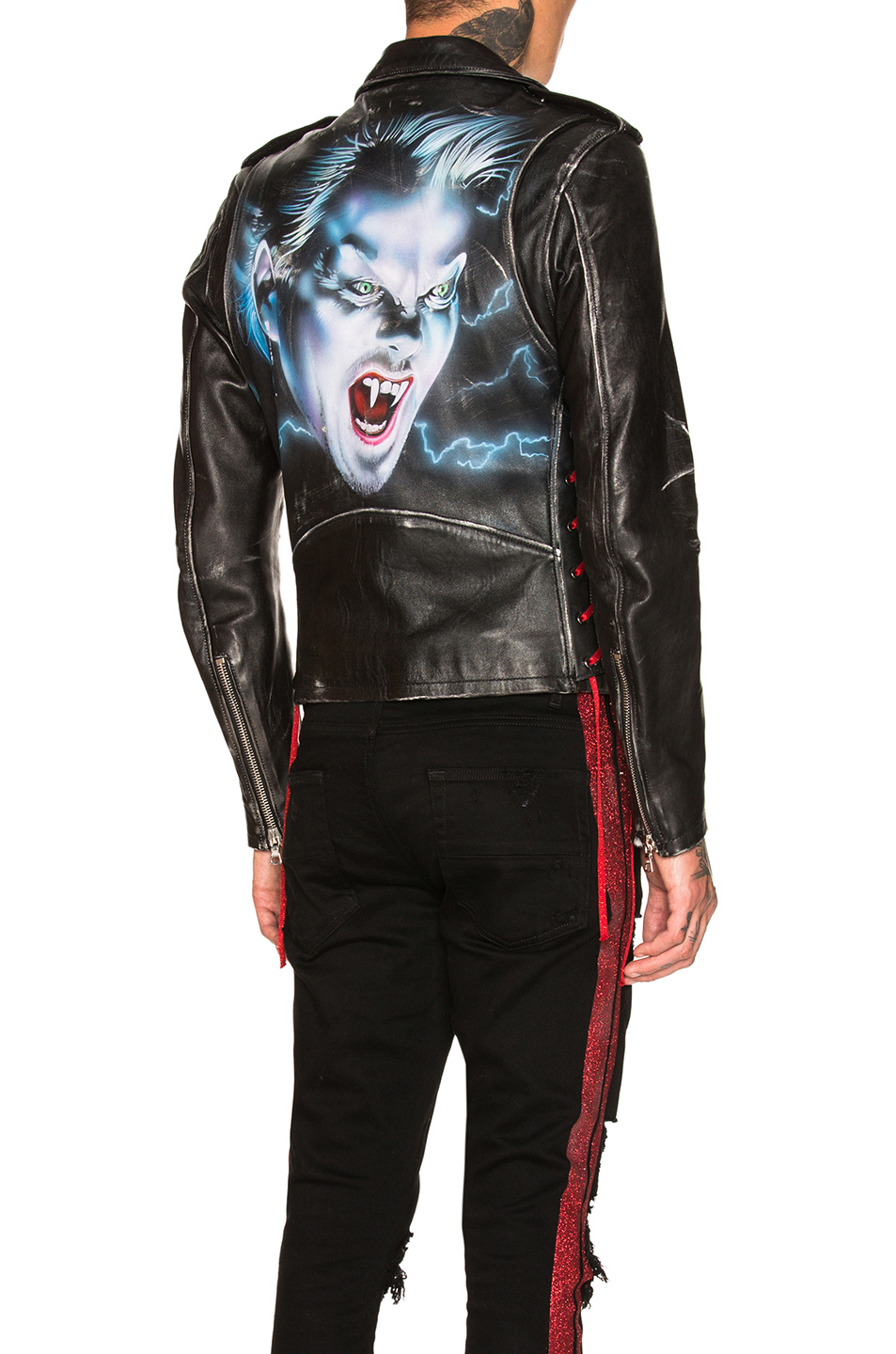 Buy Original Amiri Lost Boys Vintage Biker Jacket at Indonesia ... 2c6184767ad