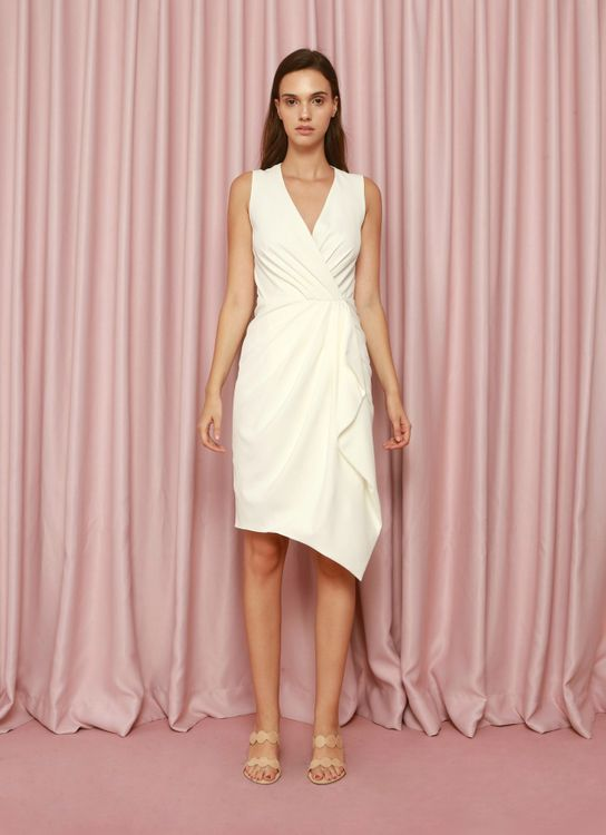CDC The Label White Calvary Dress