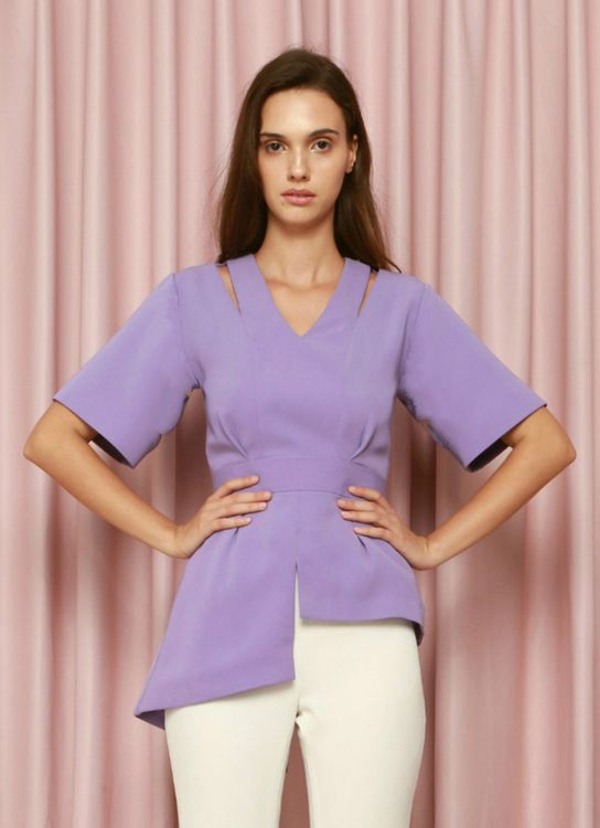 CDC The Label Lavender Zephyr Top