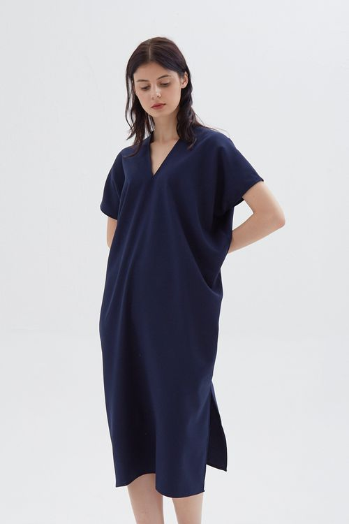 Shopatvelvet Elevation Dress Navy