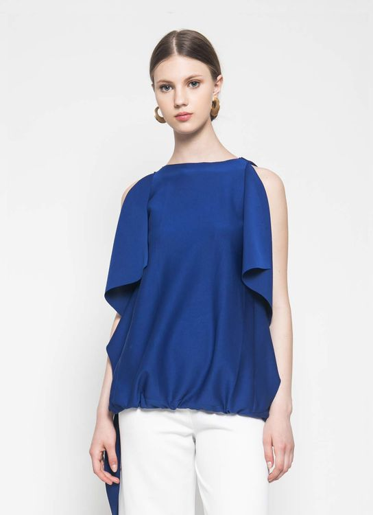 CORE ATTIRE Blue Meryle Top