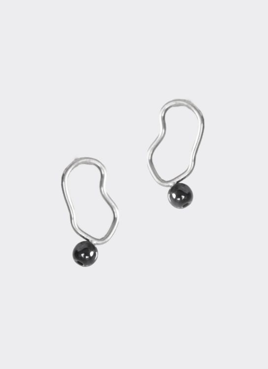 Kamala Silver Lura Earrings