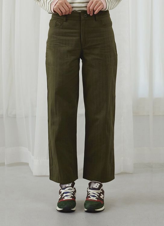 Argyle and Oxford Olive Chore Pants