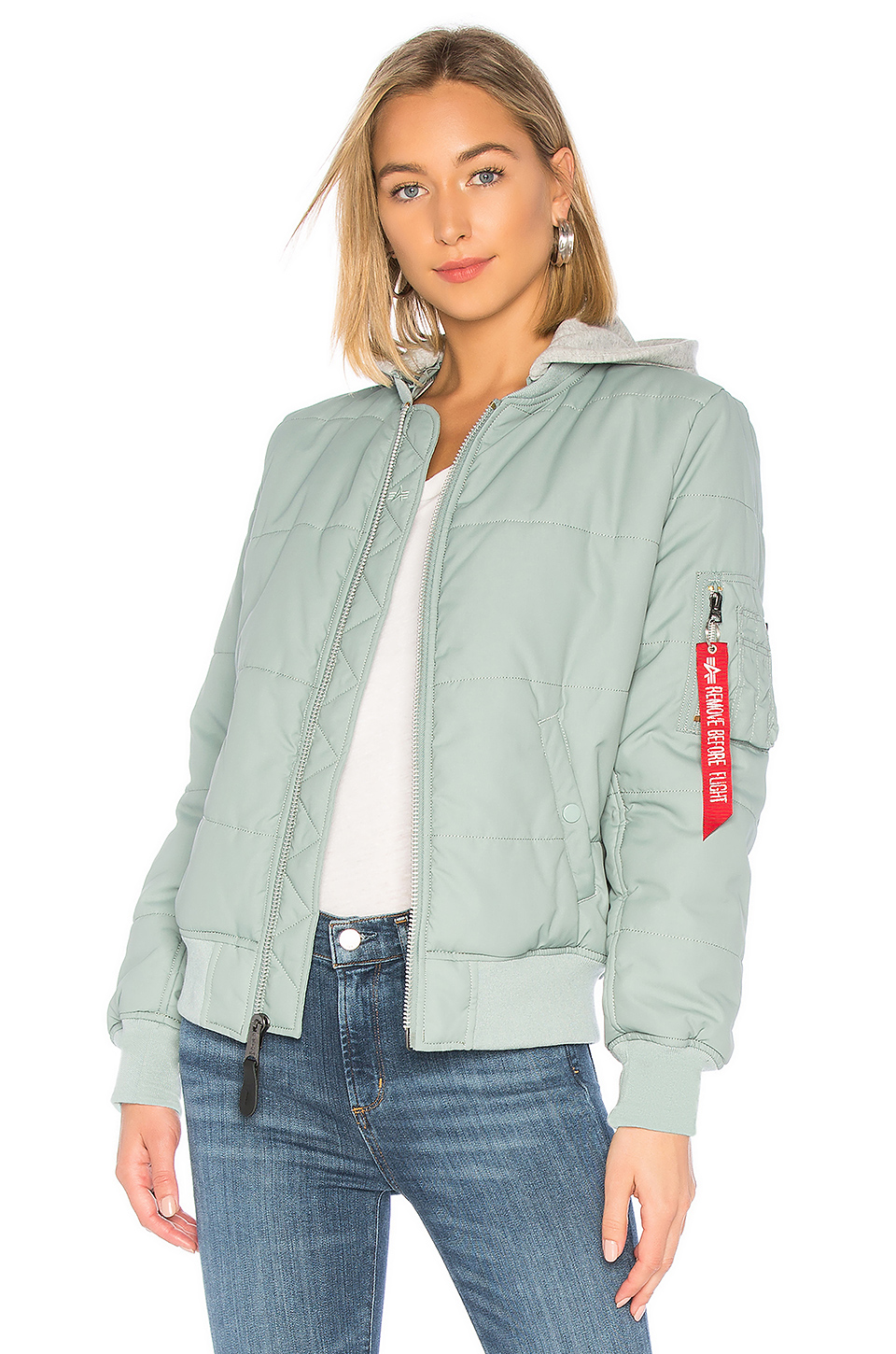5b61595a1c26d Buy Original ALPHA INDUSTRIES MA-1 Natus Quilted Flight Jacket at ...