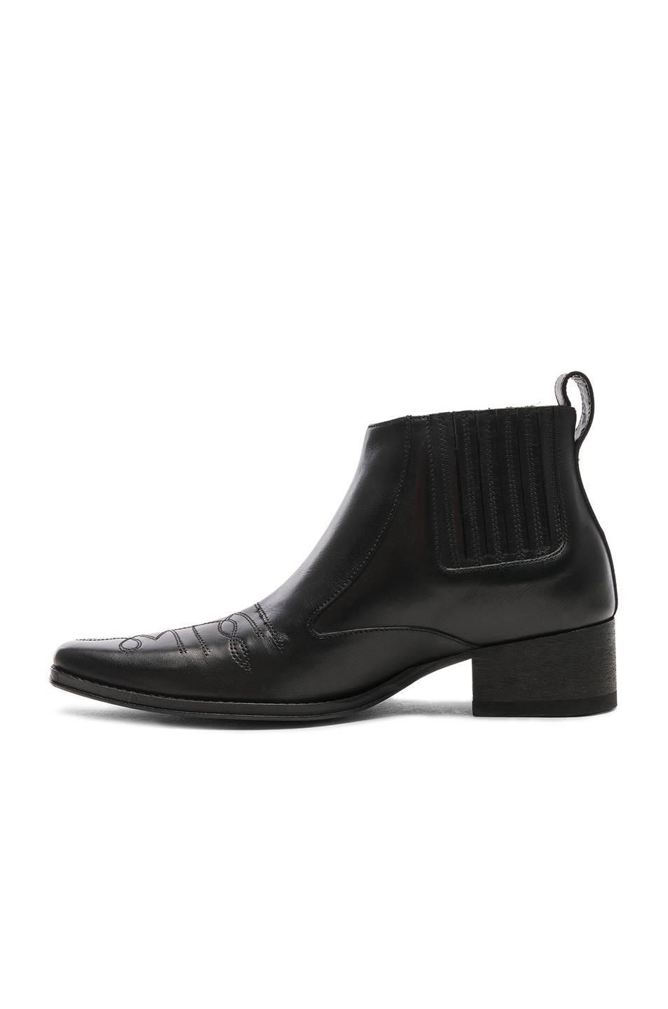 Haider Ackermann Leather Low Boots