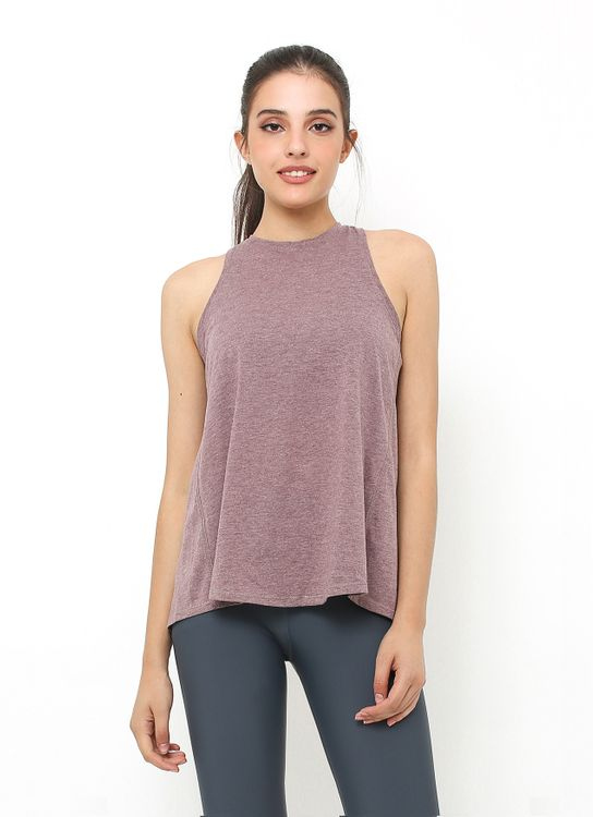 Cuca Active Prune Wing Back Tank Top
