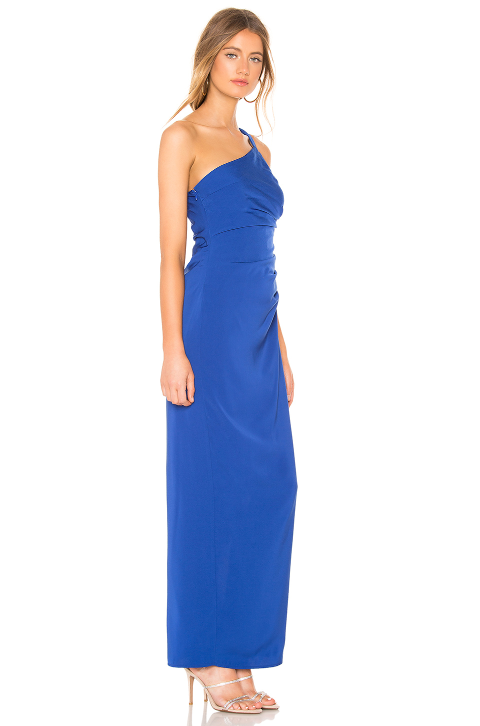 72d3fedf31c Buy Original by the way. Norah Ruched Asymmetric Maxi Dress at ...