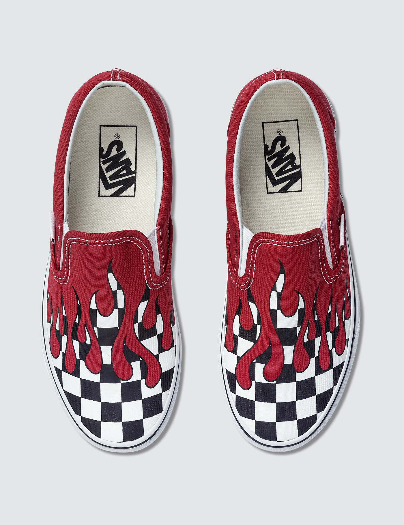 b9b7270fc69 Buy Original Vans Checker Flame Classic Slip-on at Indonesia ...