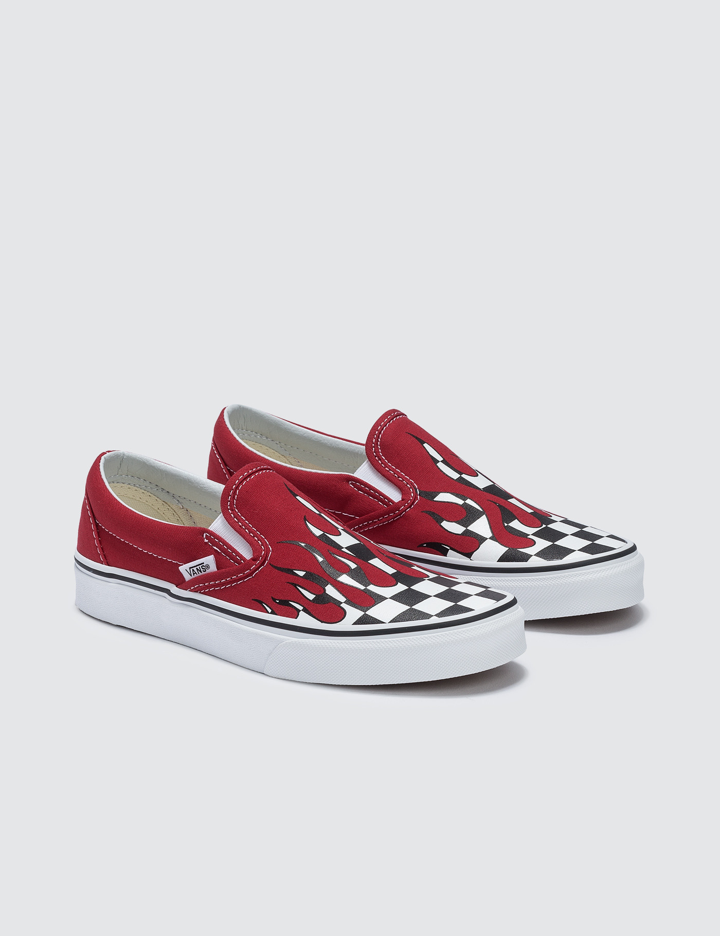 cd236f9f6d Buy Original Vans Checker Flame Classic Slip-on at Indonesia