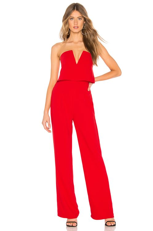 by the way. Hara Strapless Jumpsuit