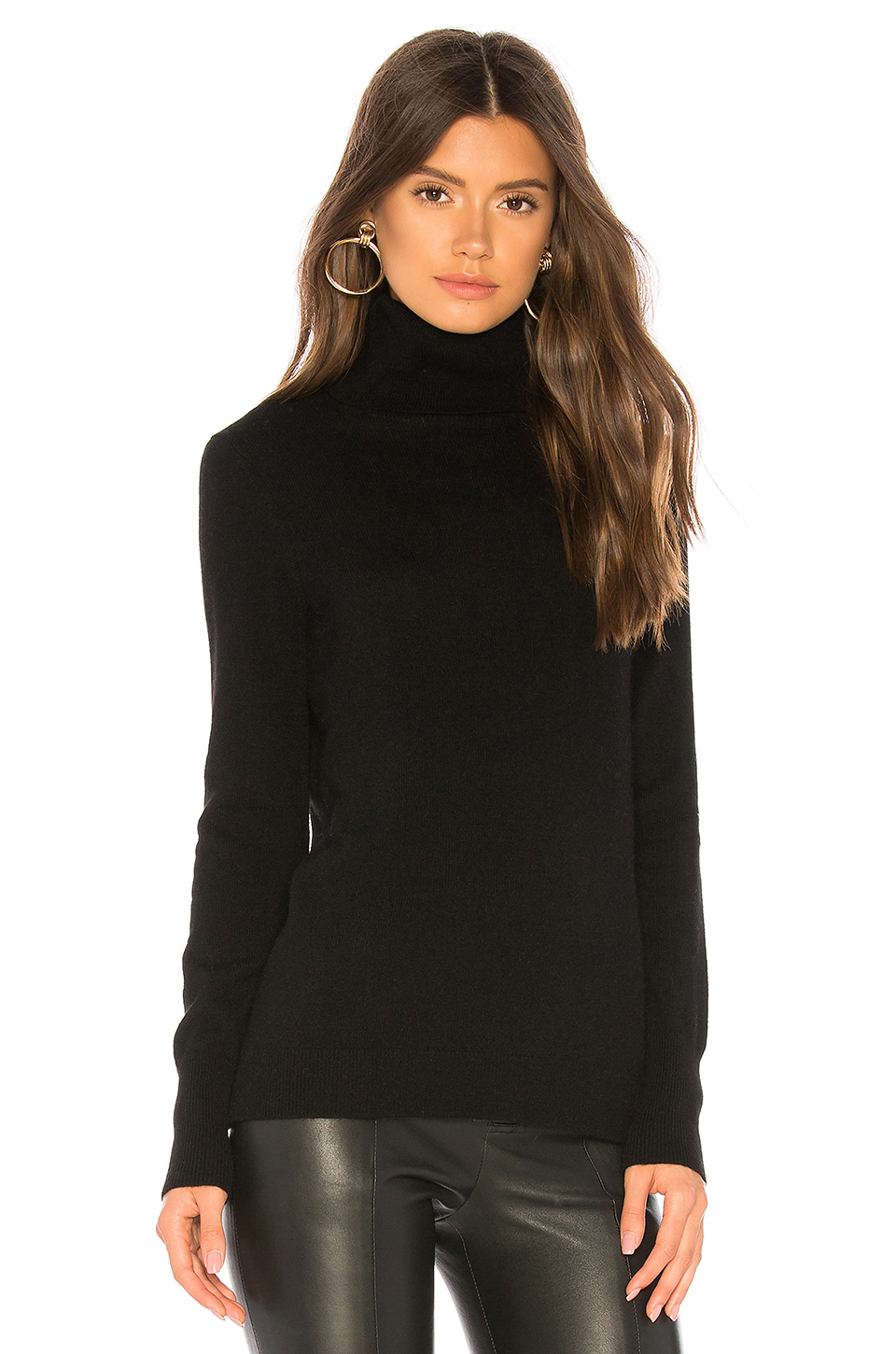 White + Warren Essential Turtleneck Sweater