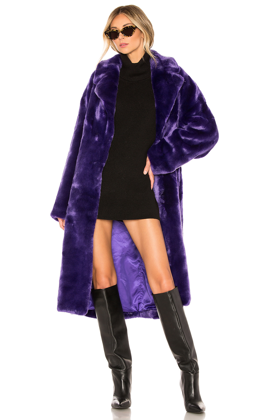 8a13a980ee26 Buy Original Tibi Luxe Faux Fur Oversized Coat at Indonesia