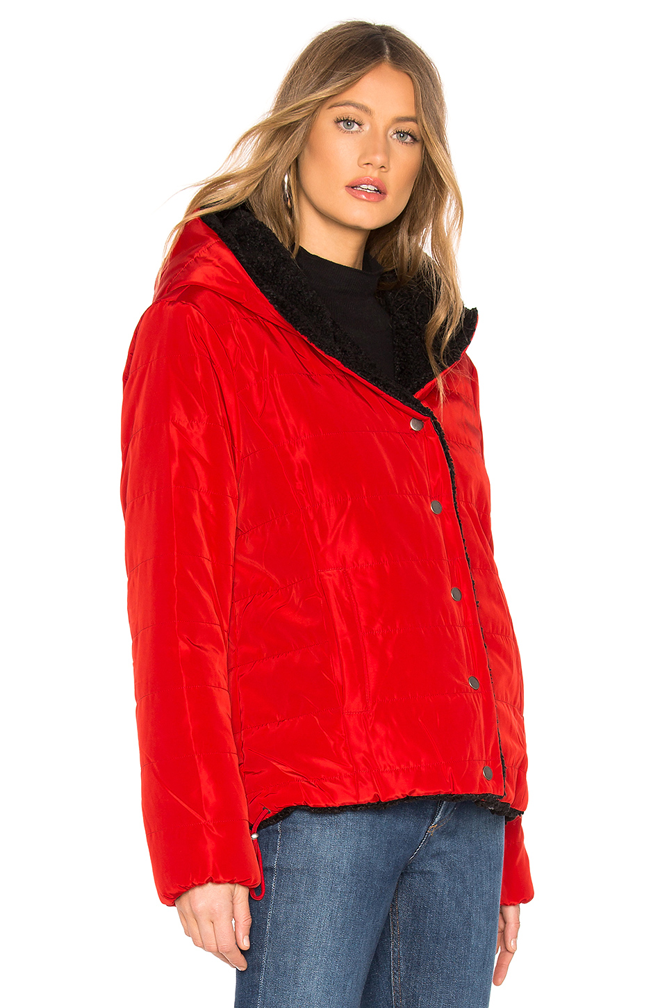 Sanctuary Fast Pass Reversible Jacket With Faux Fur Lining