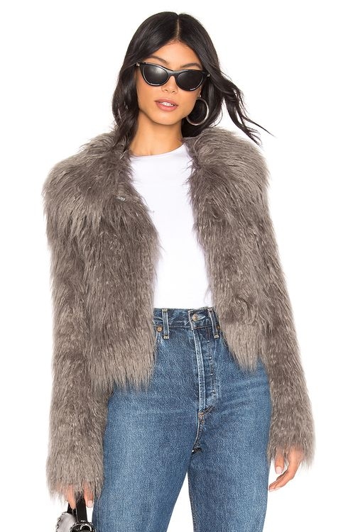 Unreal Fur The Passage Of Venuss Faux Fur Jacket