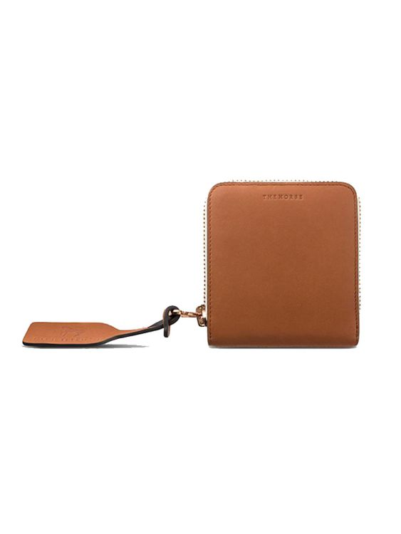 The Horse The Horse Mini Block Wallet Tan