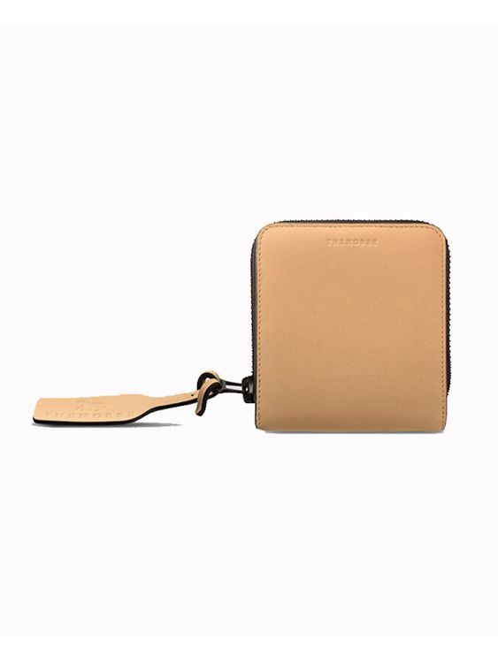 The Horse The Horse Mini Block Wallet Taupe